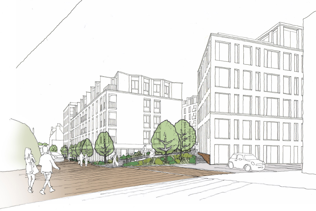 Plans submitted to transform Hudson House site