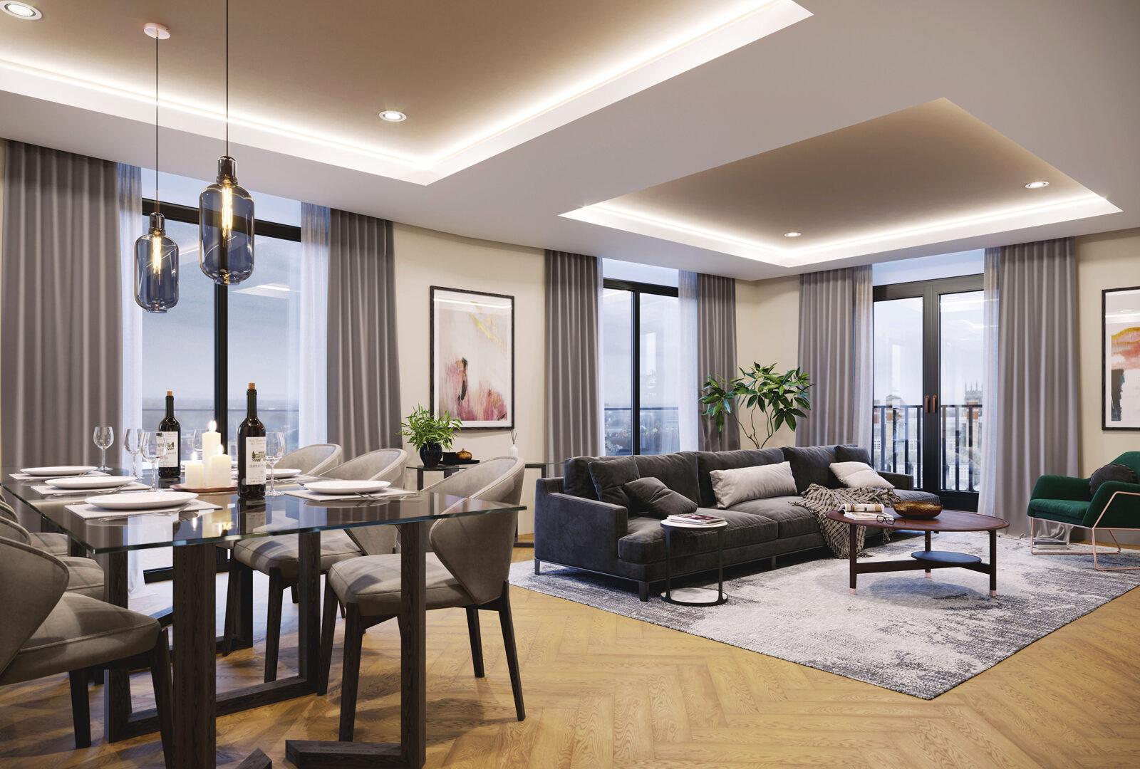 Impressive apartment sales following launch at Hudson Quarter
